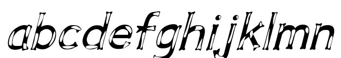 Dalmata Dream Italic Font LOWERCASE