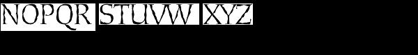 Daybreak Regular Font UPPERCASE