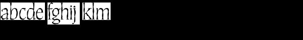 Daybreak Regular Font LOWERCASE
