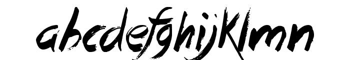Dead Island Font LOWERCASE