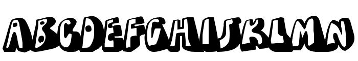 Dead Wallace Font UPPERCASE