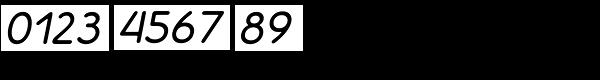 Decorum Demi Bold Italic Font OTHER CHARS