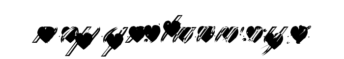 Deep Lov Font LOWERCASE
