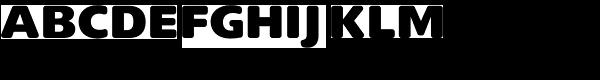 Delargo DTRounded-Black Font UPPERCASE