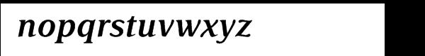 Delima™ Semi Bold Italic Font LOWERCASE