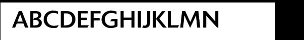 Delta Jaeger Book Font UPPERCASE