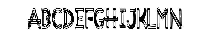 Desiderata-Overwrought Font LOWERCASE