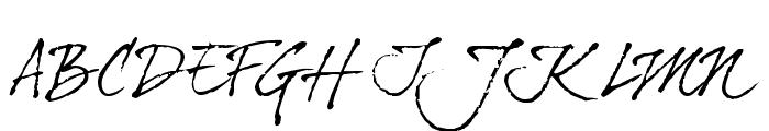 dearJoe four Font UPPERCASE