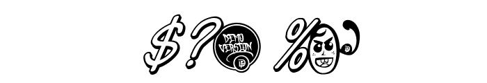 DHF Semangat 2012 Shadow Demo Italic Font OTHER CHARS