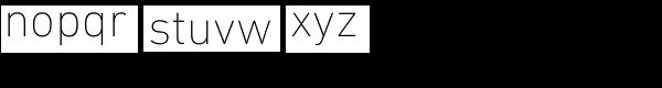 DIN Next Pro UltraLight Font LOWERCASE