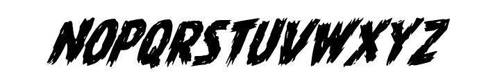 Dire Wolf Rotalic Font LOWERCASE