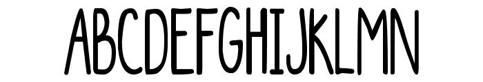 DJB The Generic Font UPPERCASE