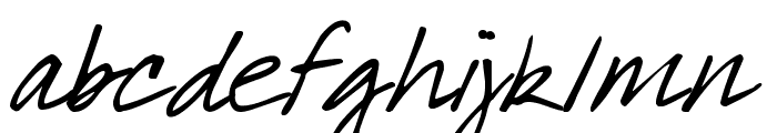 DJB What a Babe Font LOWERCASE