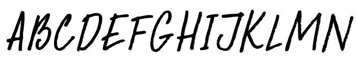 DKAbelia Font UPPERCASE