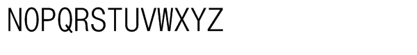 DotumChe Regular Font UPPERCASE