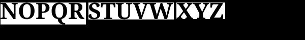 Droid Serif Pro Bold Font UPPERCASE