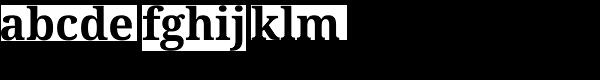 Droid Serif Pro Bold Font LOWERCASE