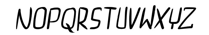 dreamgirl's dream Italic Font UPPERCASE