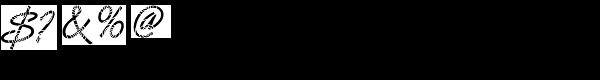 DTC Van Dijk M26 Font OTHER CHARS