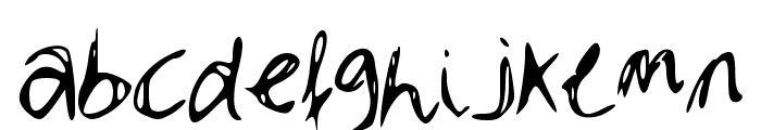 Dubble Font LOWERCASE