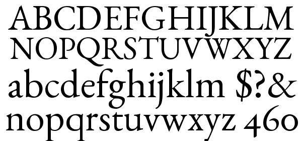 EB Garamond free Font - What Font Is