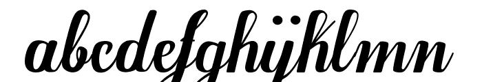 Egregio Script_demo Font LOWERCASE