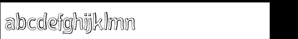 El Paso Pro Open Font LOWERCASE