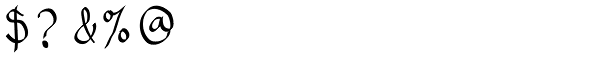 Eldra Font OTHER CHARS