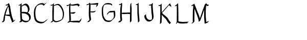 Eldra Font UPPERCASE