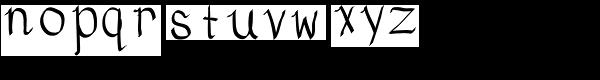 Eldra Font LOWERCASE