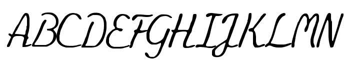 Eminenz Font UPPERCASE