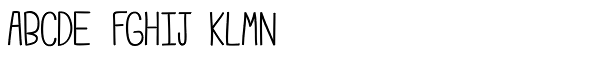 Emmy Semi Bold Font UPPERCASE