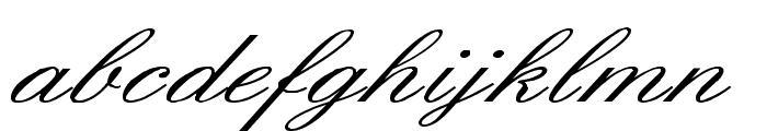 English Wd Font LOWERCASE