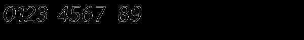 Espuma Pro Italic Font OTHER CHARS
