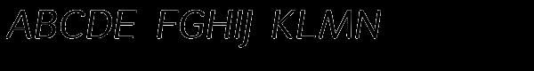 Espuma Pro Italic Font UPPERCASE