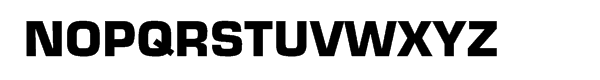 Eurostile® Bold Font UPPERCASE