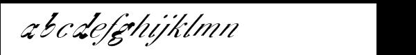 F2F BoneR™ Book Font LOWERCASE