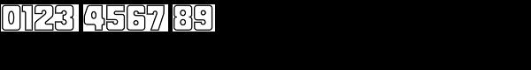 Fat Albert BT Outline Font OTHER CHARS