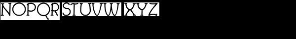 Febdrei-Bold Font UPPERCASE
