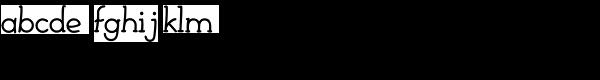 Febdrei-Bold Font LOWERCASE