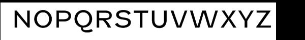 Fenwick Light Font UPPERCASE