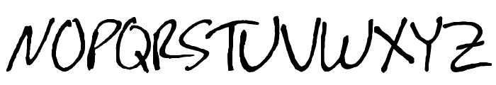 festus! Font UPPERCASE