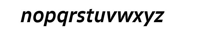 FF Balance OT Bold Italic Font LOWERCASE