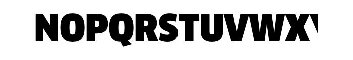 FF Clan Pro Narrow Ultra Font UPPERCASE
