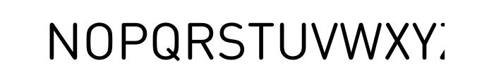FF DIN Round Pro Regular Font UPPERCASE