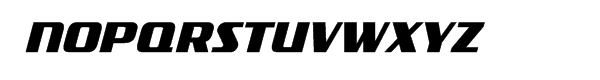 FF TradeMarker Bold Italic Font UPPERCASE
