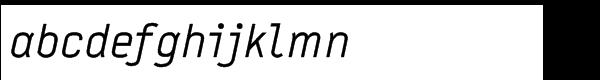 FF Typestar Std Regular Italic Font LOWERCASE