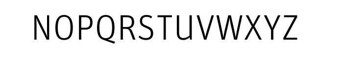 FF Unit Pro Light Font UPPERCASE