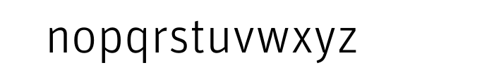 FF Unit Pro Light Font LOWERCASE