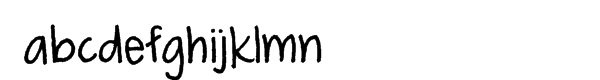 FG Smilla Regular Font LOWERCASE